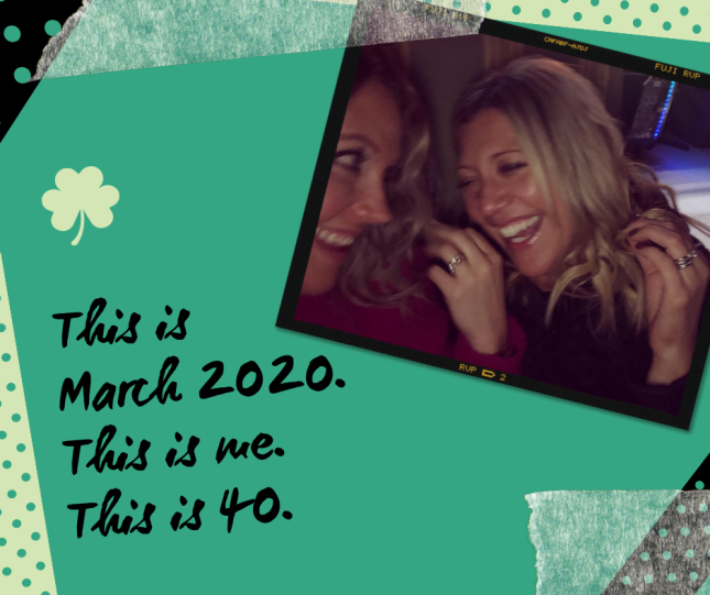 This is March 2020